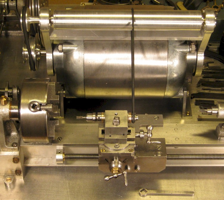 Milling attachment for watchmaker's lathe