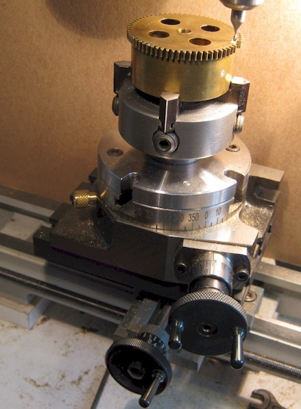 Barrel gear being machined for replacement teeth