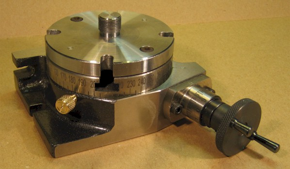 Rotary table with Unimat adaptor