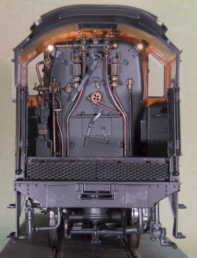 LMS 8F cab and backhead detail