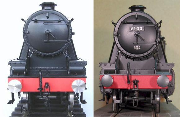 LMS Stanier 8F - front view
