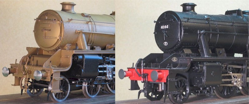 Stanier 8F and Black Five - 7mm scale (0 gauge)