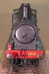 GWR Dean Goods - smokebox No 2415