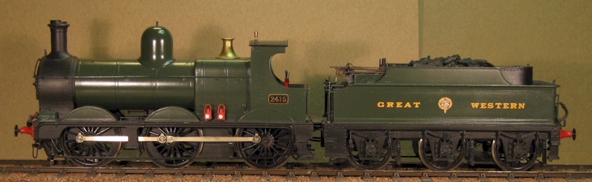 GWR Dean Goods No.2415 - 0 Gauge - 7mm scale