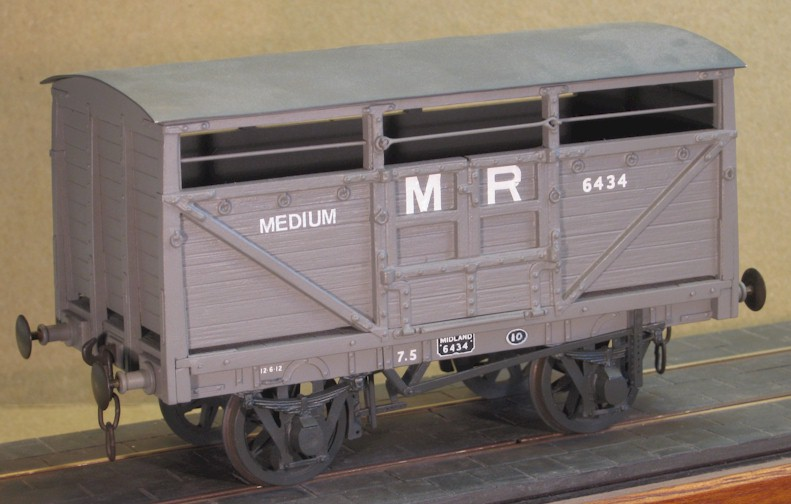 Ex LTSR cattle wagon - 7mm scale (0 gauge)