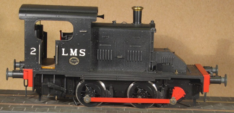 LMS No2  Fowler Diesel Mechanical (RHS)