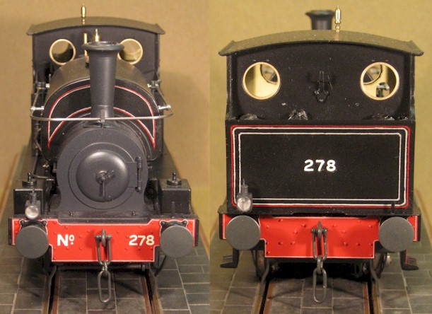 Great Central Railway No. 278 'Humber' built by David L O Smith from an Ixion Hudswell Clarke 0-6-0ST