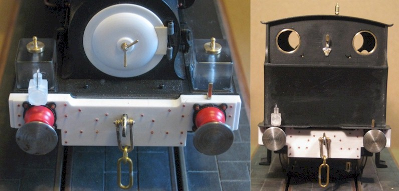 Lamps and lamp irons - Hudswell Clarke 0-6-0ST
