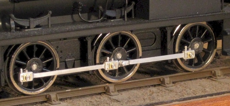 Ixion Hudswell Clarke coupling rods after