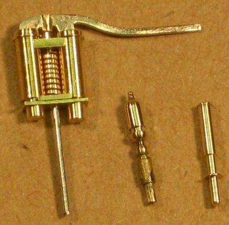 Hudswell Clarke Safety Valves and Whistles