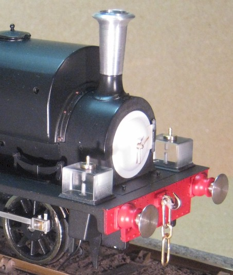 Early pattern sandboxes for Hudswell Clarke 0-6-0ST