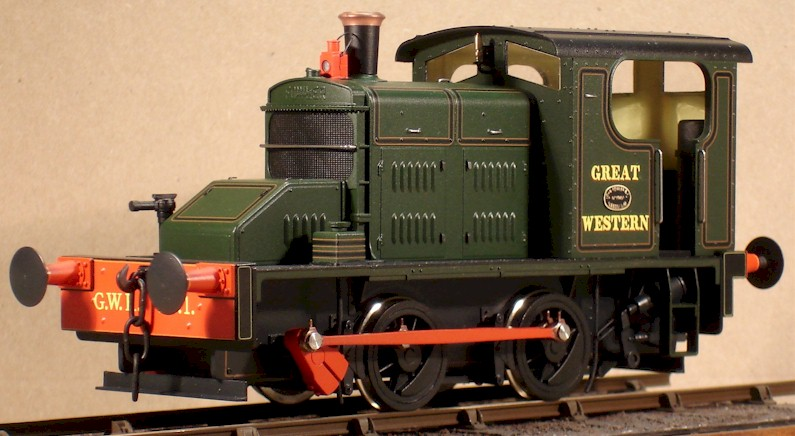 GWR No1 - Ixion model of Fowler 0-4-0DM finished by David L O Smith