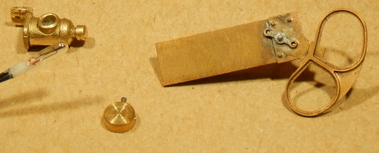 Parts for a GWR signal - 7 mm scale