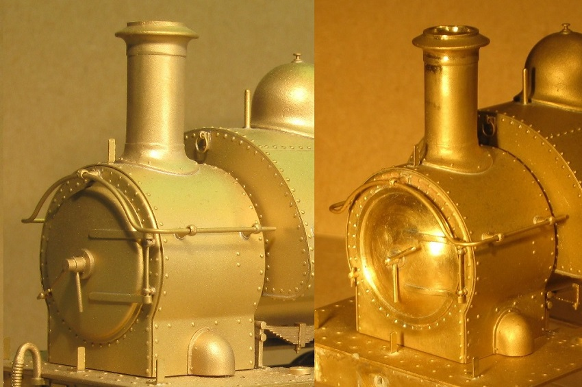 7mm scale [0 gauge] Smokebox - GWR 1361 Class