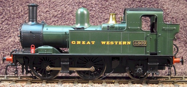 0-4-2T No. 4869 - Grea...N Class