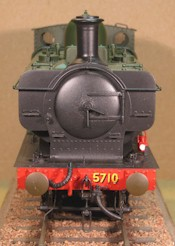 GWR 57xx smokebox front 7mm scale 0 gauge