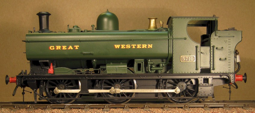 GWR 57xx 0-6-0T in 7mm scale (O Gauge) by David L O Smith