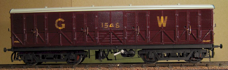 GWR Siphon F in 0 gauge by Metalmodels, build by David L O Smith