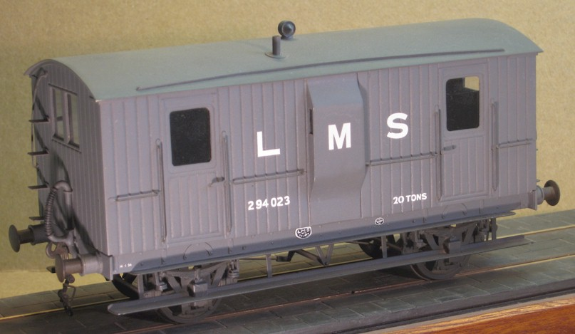 Highland Railway 20T goods brake - 7mm scale (0 gauge)
