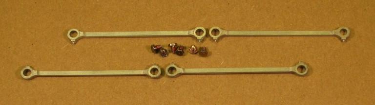 Original coupling rods from Ixion Husdswell Clarke 0-6-0ST