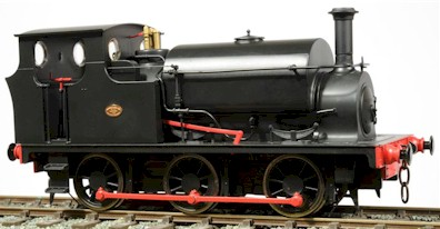 Ixion Hudswell Clarke 0-6-0ST 7mm scale 0 gauge