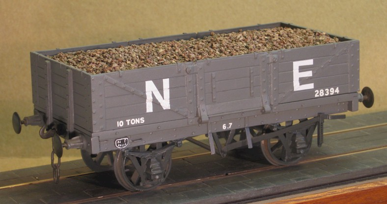 LNER 10T  5-plank side door wagon - 7mm scale (0 gauge)