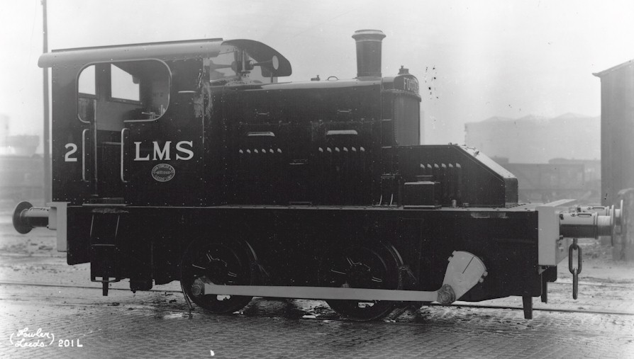 Official Works Photograph RHS of Fowler 0-4-0DM LMS No. 2