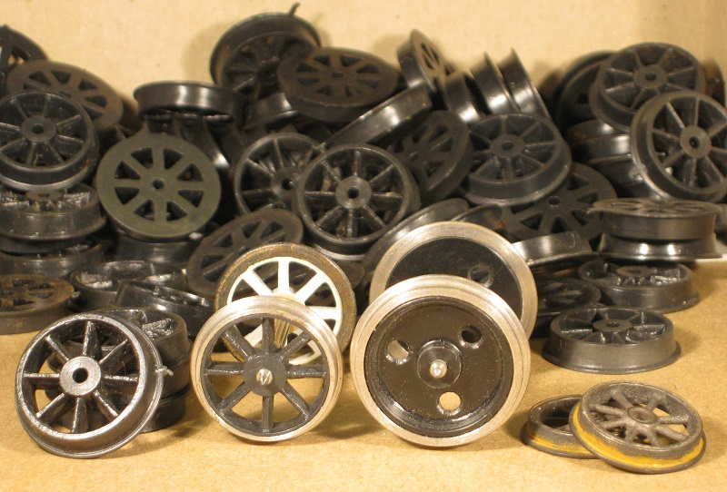 3H and other 7mm scale wagon wheels